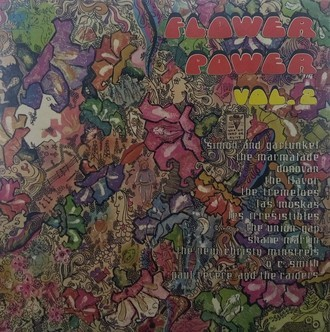 Flower Power vol. 2 LP MONO c/ Simon and Garfunkel, Tremeloes e mais