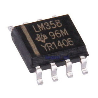 Circuito Integrado LM358 SMD SO-8