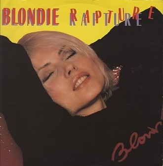 Blondie - Rapture single 12' (importado USA)