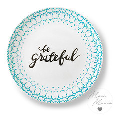 Prato decorativo Be Grateful (19,5x19,5cm)