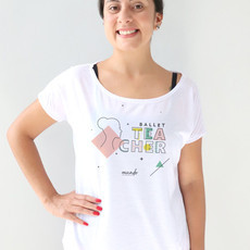 Camiseta Ballet Teacher