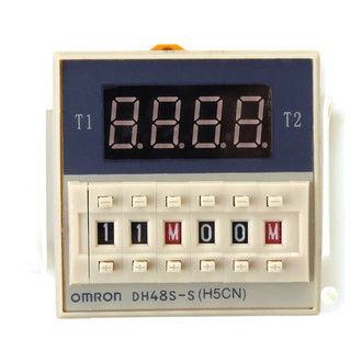 Timer Digital Omron Dh48s-s 220vac Com Display