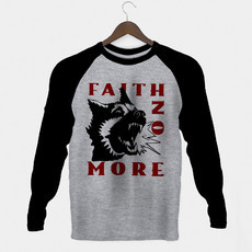 Manga Longa Masculina Faith No More