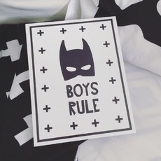 "Quadrinho ""BOYS RULE"""