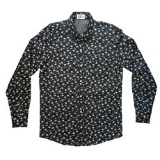 Camisa Jeans Estampada St.Paul