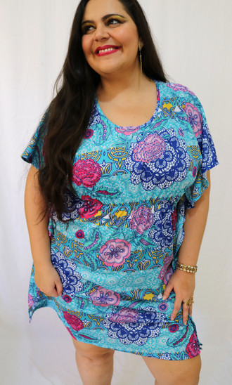 Kaftan Indiano Malha Exclusivo