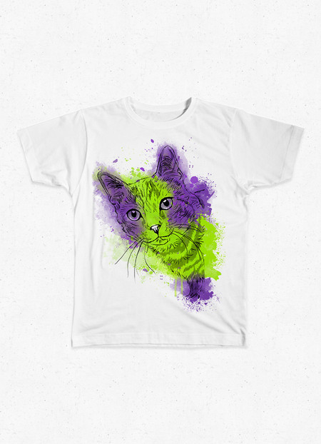 Camiseta Infantil Francisco - AMPARA Animal