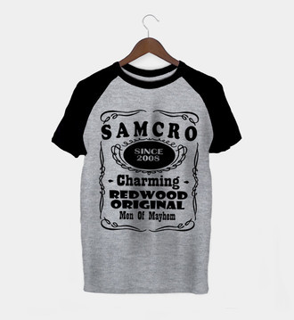 Camiseta Masculina Sons Of Anarchy
