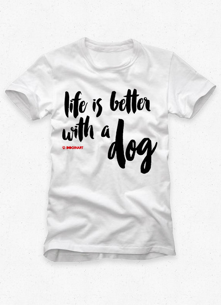 Camiseta Masculina Life is Better