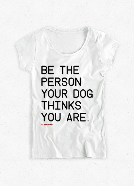 Camiseta Feminina Be The Person
