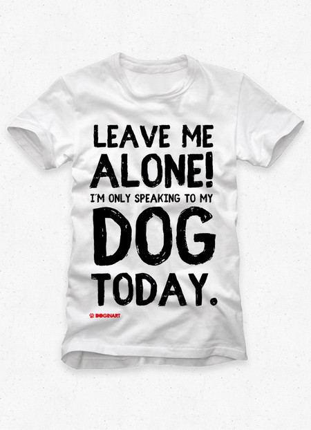 Camiseta Masculina Leave Me Alone!