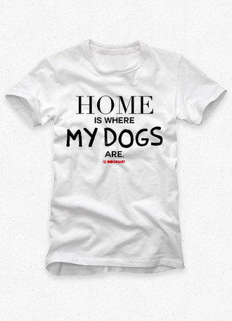 Camiseta Masculina Home Is...
