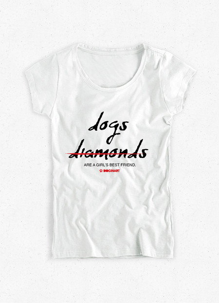 Camiseta Feminina Diamonds