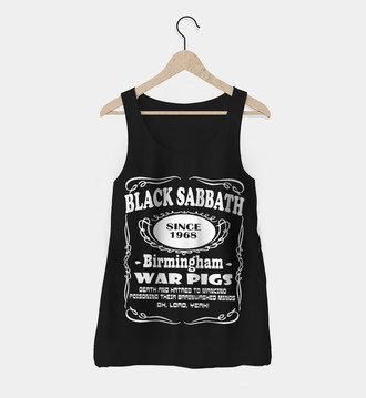 Regata Feminina Black Sabbath