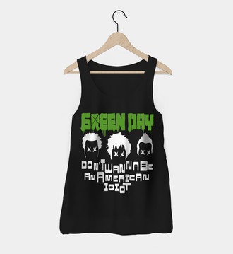 Regata Rock Feminina Green Day
