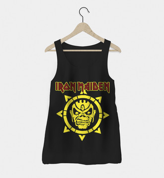Regata Rock Feminina Iron Maiden