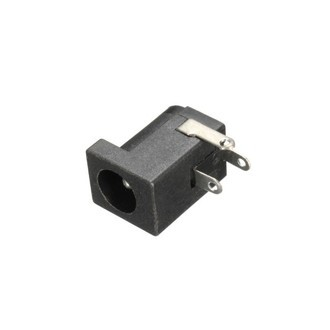Conector Jack P4 2,1mm Fêmea