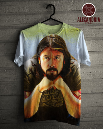 Camiseta Dave Grohl