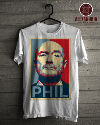 Camiseta Phil Collins 3