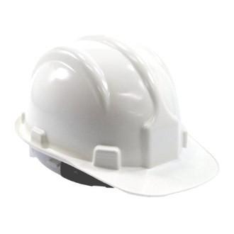 3046f0846f832 Capacete branco Classe B com selo Inmetro + jugular de PVC PLASTCOR