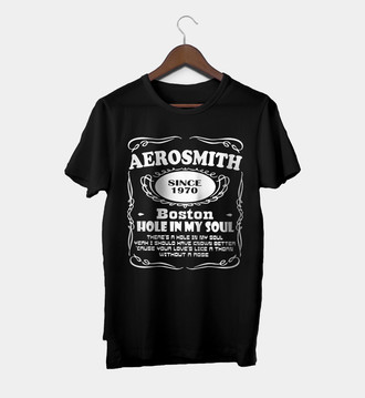 Camiseta Rock Masculina Aerosmith