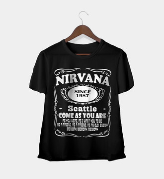 Camiseta Rock Feminina Nirvana