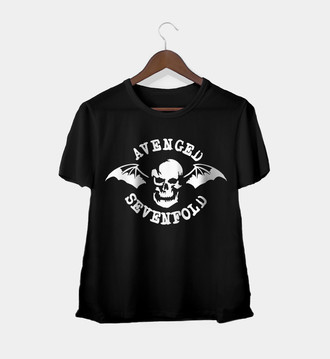 Camiseta Rock Feminina Avenged Sevenfold