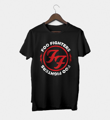 Camiseta Rock Masculina Foo Fighters