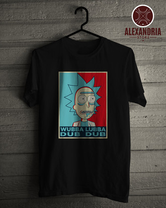 Camiseta Rick and Morty!