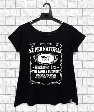 Camiseta Feminina Supernatural (2)