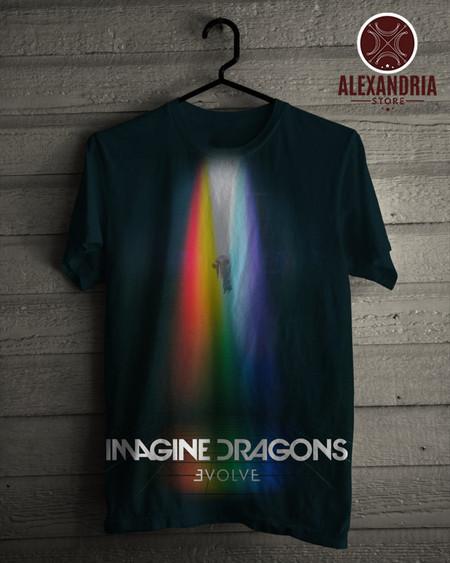 1ddf2ffbf6 Camiseta Imagine Dragons EVOLVE