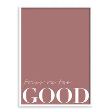 [ quadro focus on the good ]