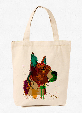 Ecobag Dobermann