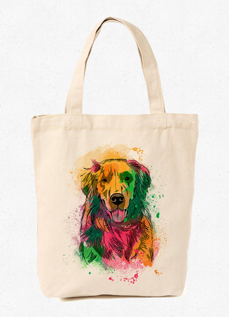 Ecobag Golden Retriever