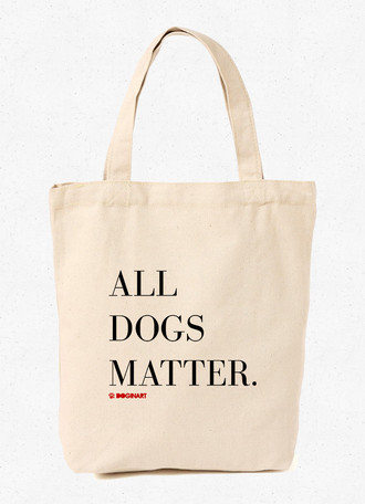 Ecobag All Dogs Matter