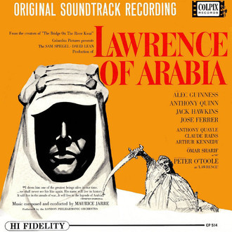 Lawrence of Arabia - original soundtrack recording LP (ex. estado)