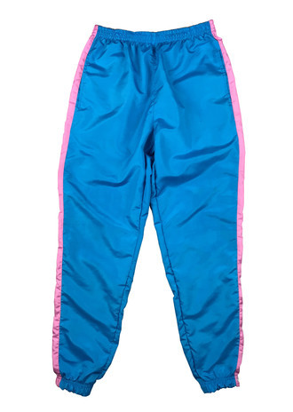Kalça Track Pants Pink and Blue