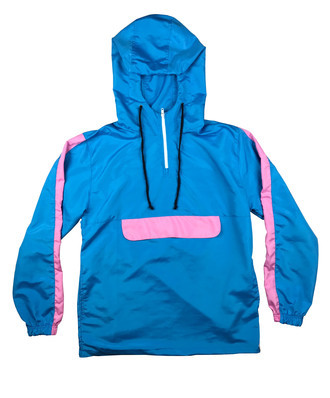 Anorak Pink and Blue