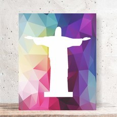 Quadro Decorativo - CRISTO REDENTOR