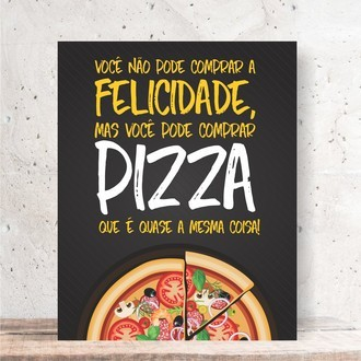 Quadro Decorativo - PIZZA