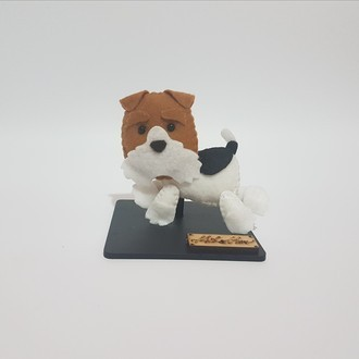 Chaveiro / Toy Art - Fox Terrier