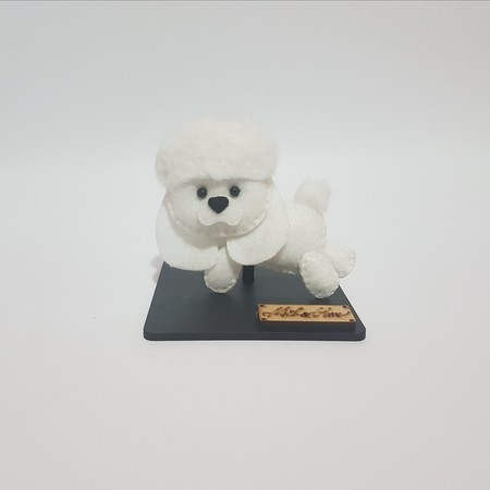 Chaveiro / Toy Art - Poodle