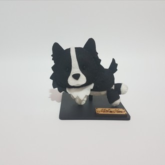 Chaveiro / Toy Art - Border Collie