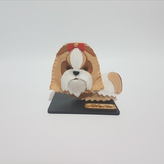 Chaveiro / Toy Art - Shih-tzu
