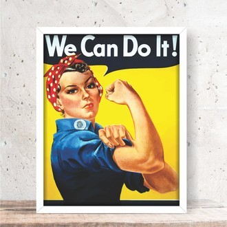 Quadro decorativo - WE CAN DO IT