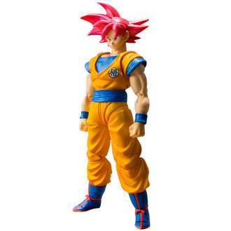 Dragon Ball Goku Super Saiyajin God SHFiguarts Bandai Action Figure