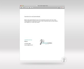 Layout Assinatura de E-mail Personalizada