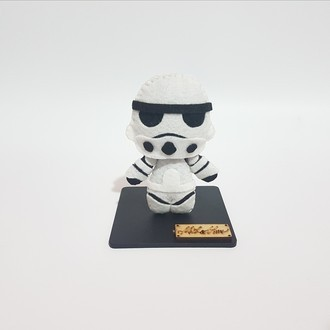 Chaveiro / Toy Art - Stormtrooper