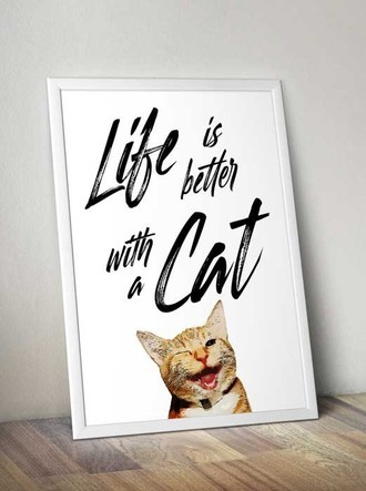 Quadro PET - Life is better with a CAT
