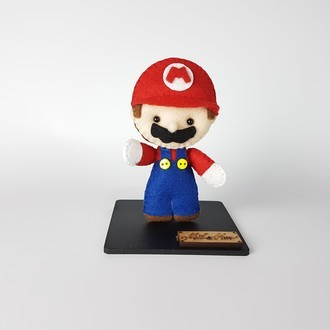 Chaveiro / Toy Art - Mario Bros